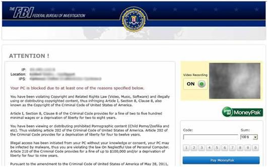 Beware of Ransomware: Malware Scam Alert