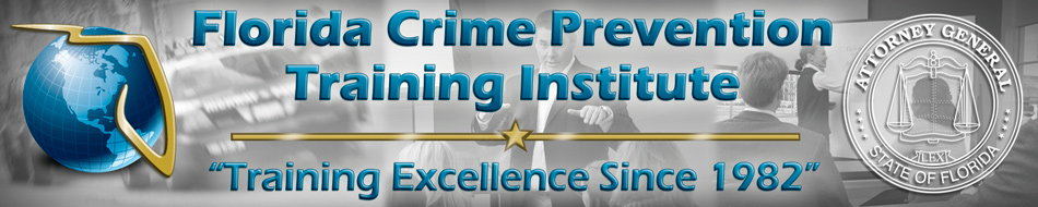 Florida Crime Prevention Practitioner Designation Update August 2016